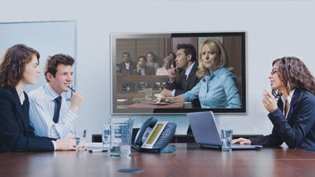 Court room video conferencing.