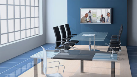 Video conferencing for every day meetings.